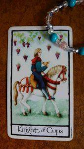 タロットカード カップの騎士 逆位置