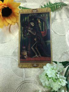 タロットカード:死神(正位置)
