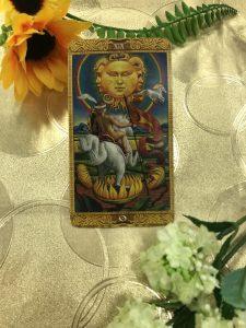 タロットカード:太陽(正位置)