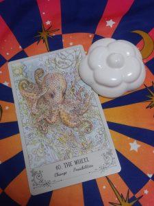 タロットカード:THE WHEELの正位置