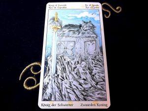 タロットカード:ソードのキング