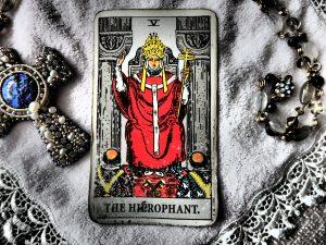 タロットカード:教皇