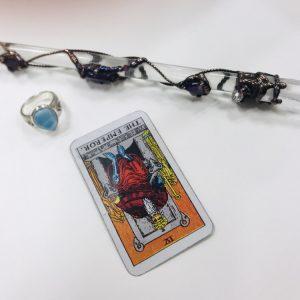 タロットカード:皇帝の逆位置