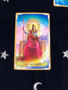 タロットカード:皇帝