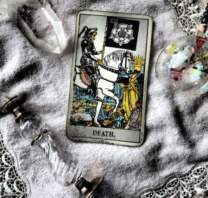 タロットカード:死神