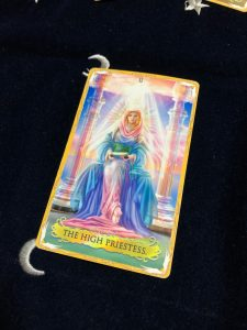 タロットカード:女教皇