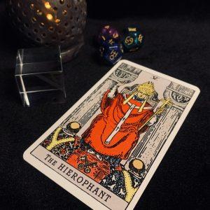 タロットカード:法王の正位置