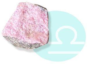 天秤座:バラ輝石