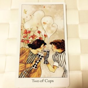 タロットカード:カップ2