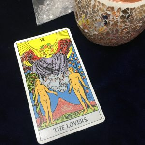 タロットカード:恋人