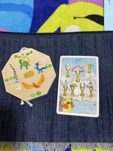 タロットカード:カップ7