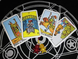 タロットカード:カップの9