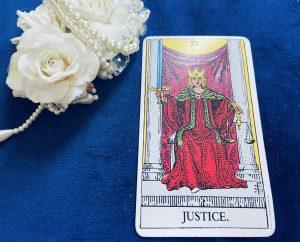 タロットカード:正義