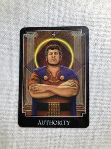 サイキックタロットオラクルカード:AUTHORITY