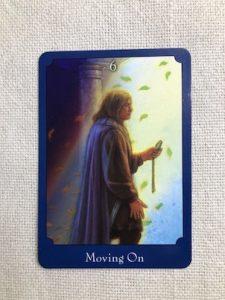 オラクルカード:Moving On 前進