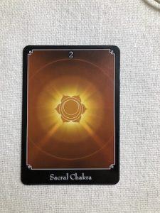 オラクルカード:Sacral Chakra セイクラルチャクラ
