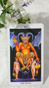 タロットカード:悪魔正位置