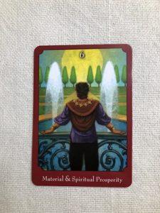 オラクルカード:Material & Spiritual Prosperity 物心両面の豊かさ
