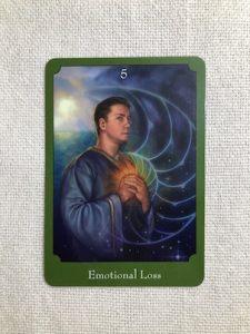 オラクルカード:Emotional Loss 喪失感