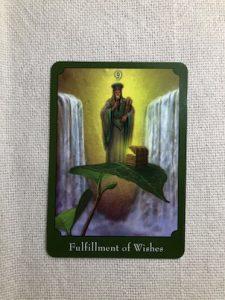 オラクルカード:Fulfillment of Wishes 願望成就