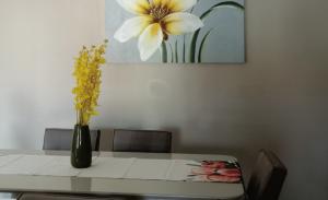 1月生まれのラッキーアイテム:黄色い花