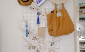 9月生まれのラッキーアイテム:茶色のバッグ