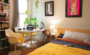 1月生まれのラッキーアイテム:黄色のベッドカバー