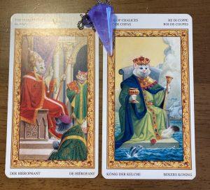 タロットカード:法王