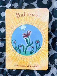 オラクルカード:信じる