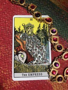 タロットカード:女帝の正位置